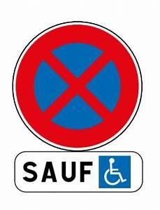 Panneau Stationnement Handicapé : panneau parking pmr associ au panonceau m6h must equipement ~ Medecine-chirurgie-esthetiques.com Avis de Voitures