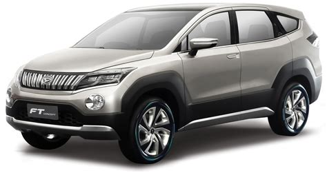 Daihatsu Suv by Daihatsu Ft Concept Is A Vision For A 7 Seat Compact Suv