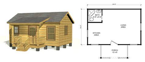 Small Log Cabin Kits & Log Homes
