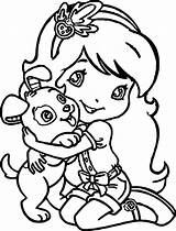 Girly Coloring Pages Dog Strawberry Dogs Draw Wecoloringpage Tiny Printable Sheets Clarence Clipartmag Getcolorings Colo sketch template