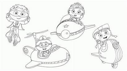 Coloring Super Why Pages Princess Presto Printable