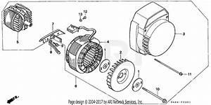 Honda Eg650 A2 Generator  Jpn  Vin  G100