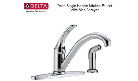 Single Handle Kitchen Faucet With Side Sprayer Vent Free Fireplaces Reviews Fireplace Screen Single Panel Firerock Modern Contemporary Thief River Falls Direct For Sale Bees In Nyc Bars With
