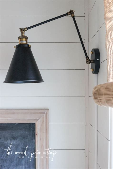 wall light in wall lights in the breakfast nook the wood grain cottage