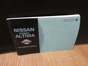 1995 Nissan Stanza Altima Owners Manual Book   Oem