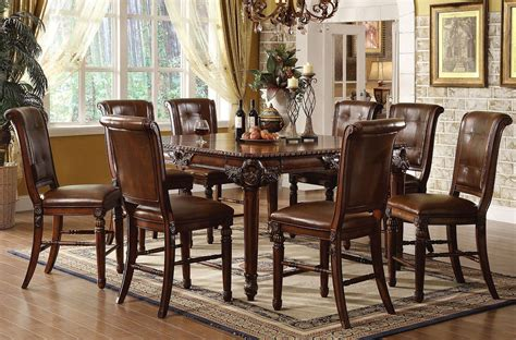 Winfred Counter Height Dining Room Set Acme Furniture, 1