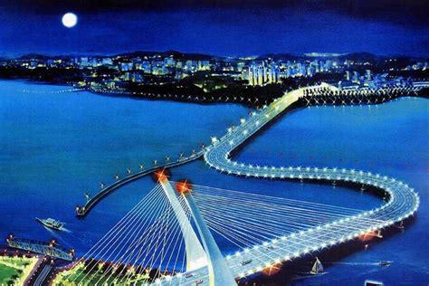 najib mahathir  crooked bridge    issue