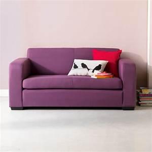 alinea studio mousse canape lit 2 places prune With canape lit deplimousse