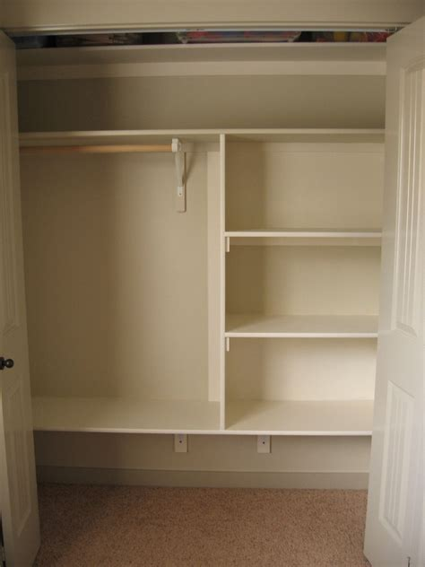 Building Bedroom Shelves some creativity the trouble with closets
