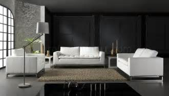 modern livingroom sets top grain leather 3 modern living room set manhattan white