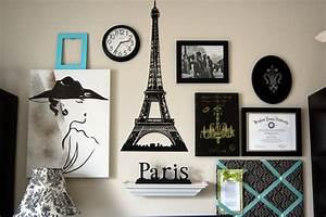 Family ever after paris gallery wall for Paris wall decor