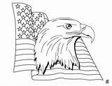 Coloring Flag Patriotic sketch template