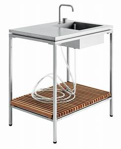 Evier Pour Cuisine : evier pour cuisine d 39 ext rieur blanc viteo made in design ~ Carolinahurricanesstore.com Idées de Décoration