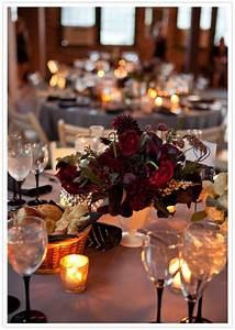 Wedding Wednesday :: Plum & Burgundy Flower Inspiration