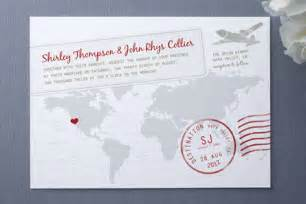 destination wedding invitations a faraway destination wedding invitations invitation crush