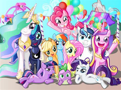 pony friendship magic mlp fan random ponies fanart main games meme equestria know