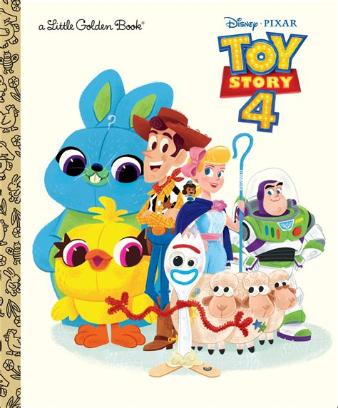 Toy Story 4 Little Golden Book Disney Wiki Fandom