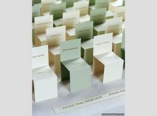 Place Card and Escort Card Ideas