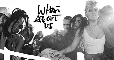 'what About Us' Stream, Lyrics & Download