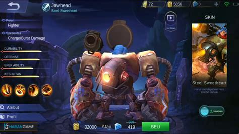 Review Hero Fighter Baru Jawhead Mobile Legends