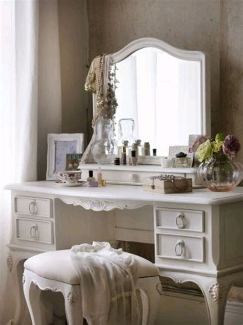 shabby chic vanity table 24 french style bedrooms messagenote