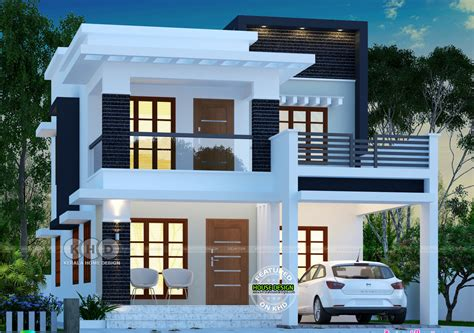 1755 Square Feet 3 Bedroom Double Floor Contemporary