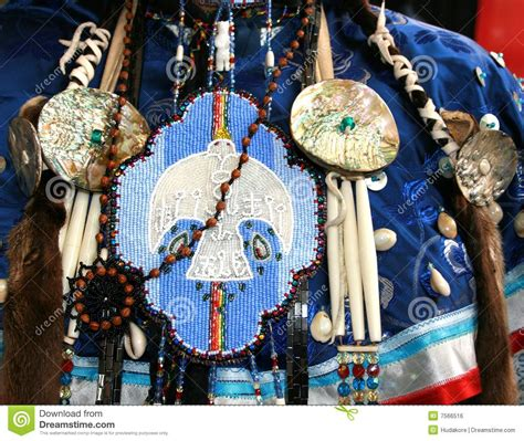 ottawa indian beadwork stock photo image  decoration