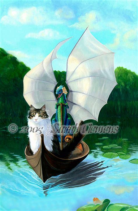 Magnus And Loki Birdwatching By Sarah Clemens Cats