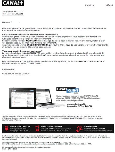 modele lettre retractation 14 jours r 233 siliation abonnement canal late dealabs
