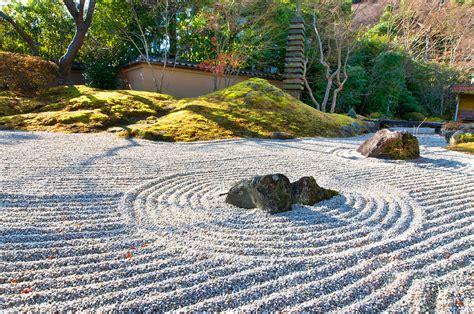 Zen Garten Bilder by Zen Garden At A Morning Photograph By U Schade