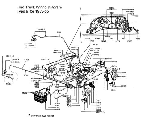 1955 Thunderbird Overdrive Wiring Diagram by In Need Of A Readable Wiring Diagram Ford Truck