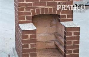 realiser un foyer de briques pour l39exterieur en etapes With construire un foyer exterieur en pierre