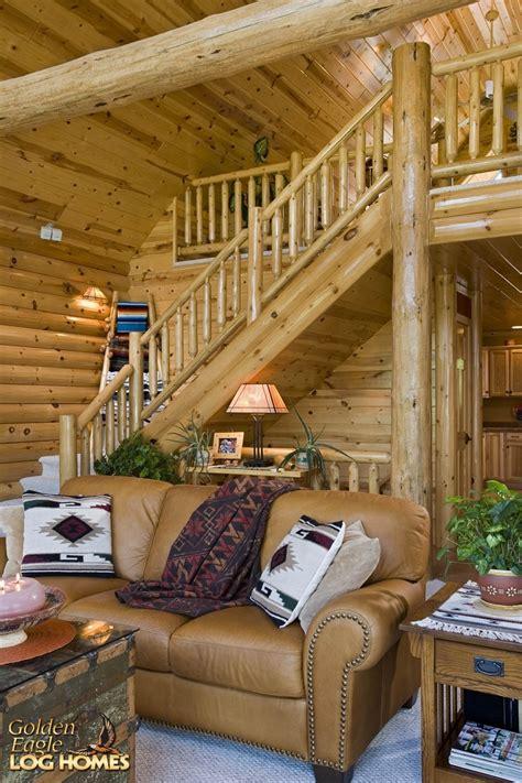 golden eagle log  timber homes log home cabin pictures  custom eagle prow