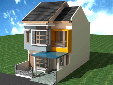 gambar rumah minimalis pintu samping rumah en