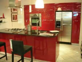 Red Kitchens :  Red Paint Colors For A Kitchen