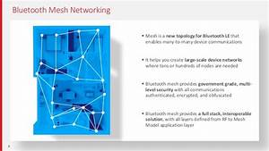 Extending Bluetooth With Mesh Networking