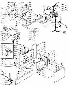 Kenmore 1105810102 Laundry Center Parts