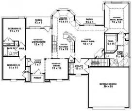 5 bedroom 1 story house plans 654175 one story 3 bedroom 2 bath traditional style house plan house plans floor