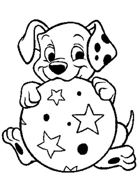 101 Dalmatians Puppies Coloring Pages | Printable Pages | disney 101 dalmatians | Puppy coloring