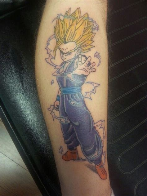 tattoo ideas featuring gohan onpoint tattoos page