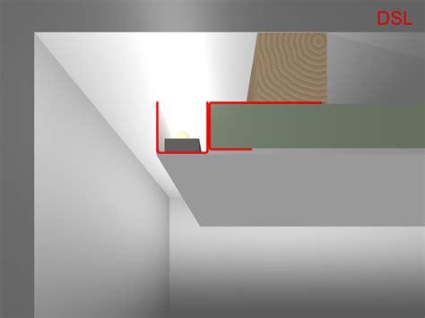 led profil decke indirekte beleuchtung an wand decke selber bauen