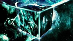 Space Cube  Wallpaper  By Hardii On Deviantart