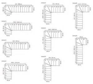 Dimensions Escalier Standard by Dimensions Escalier Quart Tournant Sedgu Com