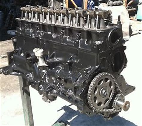 Jeep Cherokee Motor Engine Amc Rebuilt