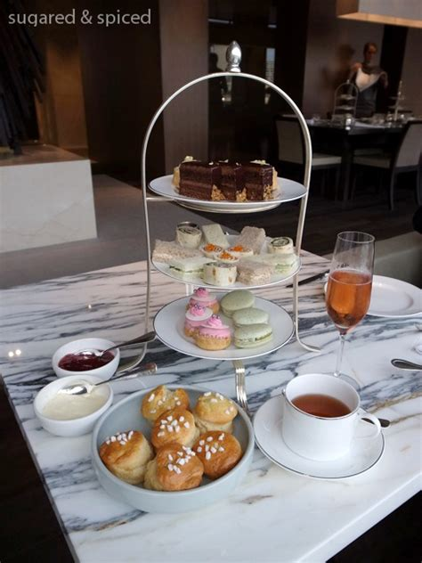 sydney park hyatt afternoon tea hotel  sugared