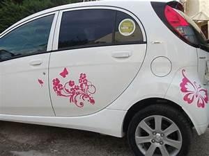 Voiture P : stickers voiture papillon ~ Gottalentnigeria.com Avis de Voitures
