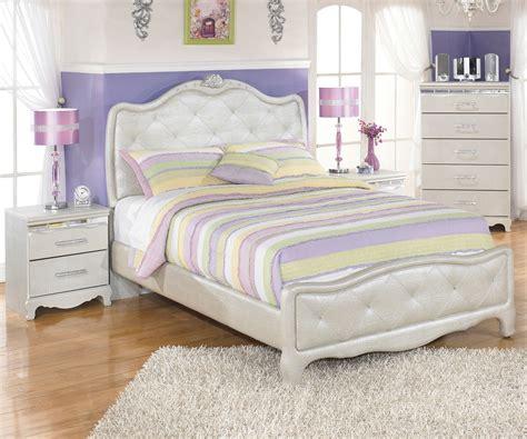 Zarollina B182 Full Size Upholstered Bed Girls Bedroom