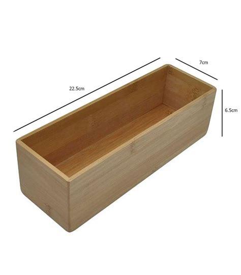 bo 238 te rangement salle de bain rectangulaire en bambou