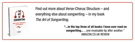 verse chorus structure 101 the song foundry