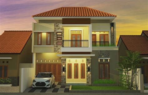 contoh gambar rumah mewah mikonazol